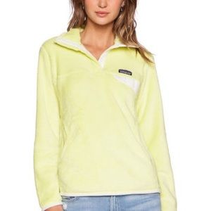 Women's Patagonia pullover yellow